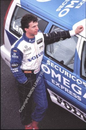 Jan Lammers. Volvo 850 Estate BTCC paddock 1994